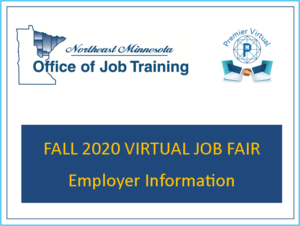 Fall 2020 Virtual Job Fair Employer Information
