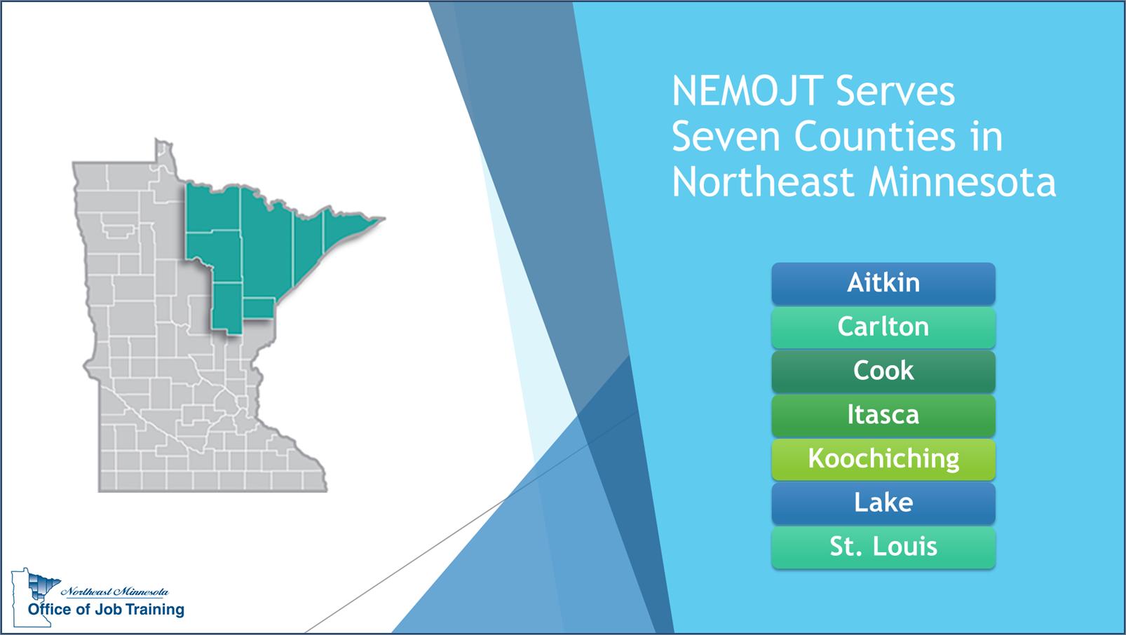 Seven Counties in Northeast Minnesota