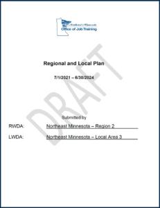 Regional and Local Plan Draft for Northeast Minnesota